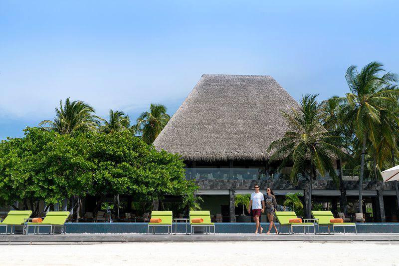 AKV安娜塔拉-吉哈瓦岛 Anantara Kihavah Villas ,马尔代夫风景图片集:沙滩beach与海水water太美,泳池pool与水上活动watersport好玩
