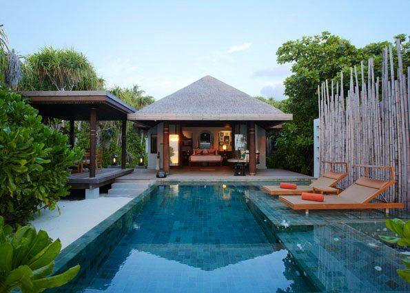 海滩泳池别墅-Beach Pool Villa 房型图片及房间装修风格(AKV安娜塔拉-吉哈瓦岛 Anantara Kihavah Villas)海岛马尔代夫