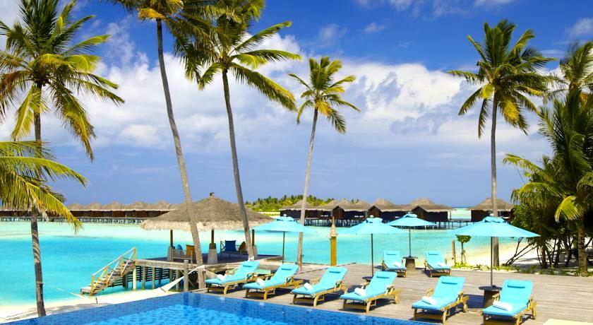 薇莉岛(安娜塔拉) Anantara Veligandu Huraa ,马尔代夫风景图片集:沙滩beach与海水water太美,泳池pool与水上活动watersport好玩