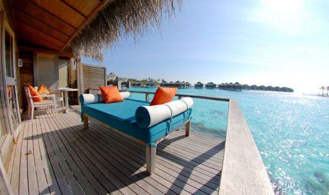 水上度假屋-Over Water Bungalow 房型图片及房间装修风格(薇莉岛(安娜塔拉) Anantara Veligandu Huraa)海岛马尔代夫