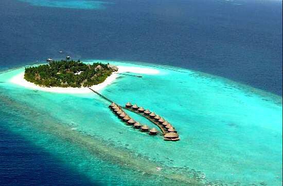 安嘎嘎岛 Angaga Island 鸟瞰地图birdview map清晰版 马尔代夫