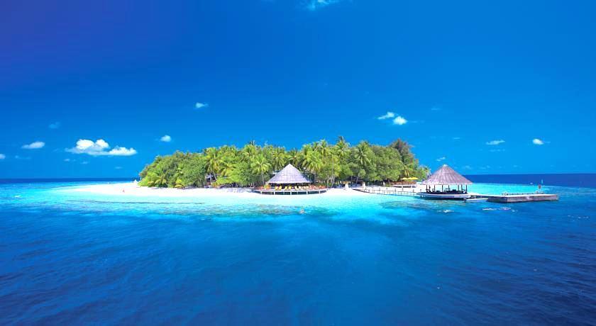 安莎娜伊瑚鲁岛|伊瑚鲁 Angsana Ihuru 鸟瞰地图birdview map清晰版 马尔代夫