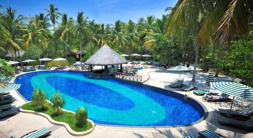 班度士岛|班多士 Bandos islands ,马尔代夫风景图片集:沙滩beach与海水water太美,泳池pool与水上活动watersport好玩