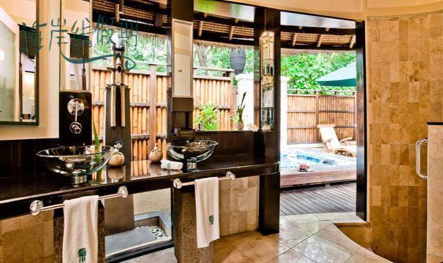 海景泳池别墅-Oceanview Pool Villa 房型图片及房间装修风格(悦榕庄–瓦宾法鲁岛 Vabbinfaru)海岛马尔代夫