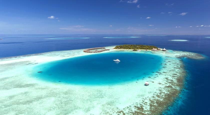 巴洛斯岛 Baros 鸟瞰地图birdview map清晰版 马尔代夫