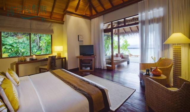 海景花园别墅-Deluxe Villa 房型图片及房间装修风格(巴洛斯岛 Baros)海岛马尔代夫