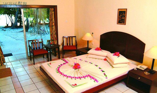 标准房-Standard Room 房型图片及房间装修风格(白雅湖岛 Biyadhoo Island)海岛马尔代夫