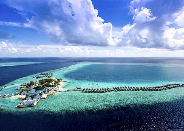 国王岛(圣塔拉富士) Centara Ras Fushi 鸟瞰地图birdview map清晰版 马尔代夫