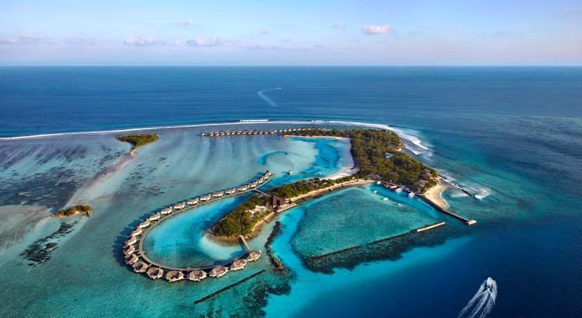 梦幻岛 Chaaya Island  Dhonveli 鸟瞰地图birdview map清晰版 马尔代夫