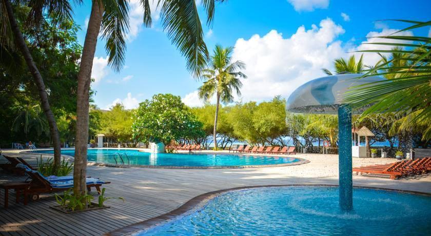 梦幻岛|东菲利岛 Chaaya Island Dhonveli ,马尔代夫风景图片集:沙滩beach与海水water太美,泳池pool与水上活动watersport好玩