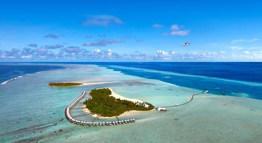 哈库拉|魅力岛 Chaaya Lagoon Hakuraa Huraa 鸟瞰地图birdview map清晰版 马尔代夫