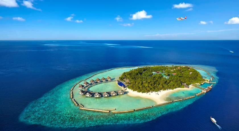 艾拉胡岛|艾拉湖 Ellaidhoo By Cinnamon 鸟瞰地图birdview map清晰版 马尔代夫