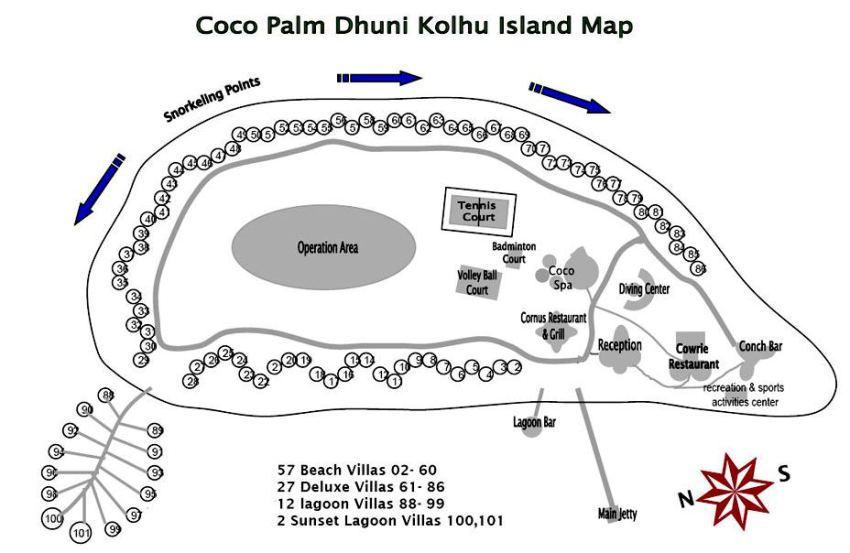 maldives 杜尼可鲁岛(可可棕榈杜妮) Coco Palm Dhuni Kolhu 漂亮马尔代夫图片相册集