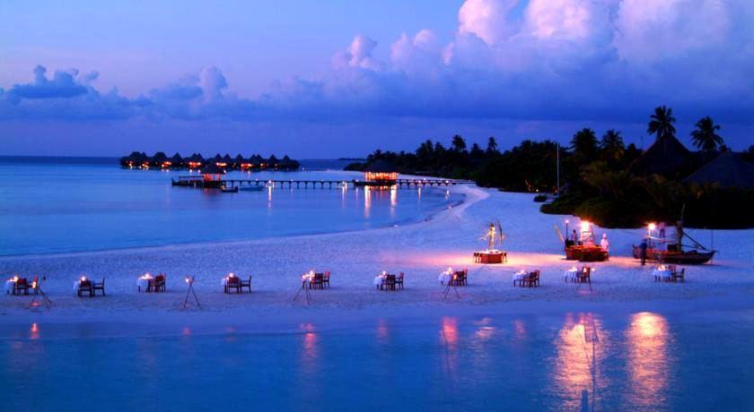 杜尼可鲁岛(可可棕榈杜妮) Coco Palm Dhuni Kolhu ,马尔代夫风景图片集:沙滩beach与海水water太美,泳池pool与水上活动watersport好玩