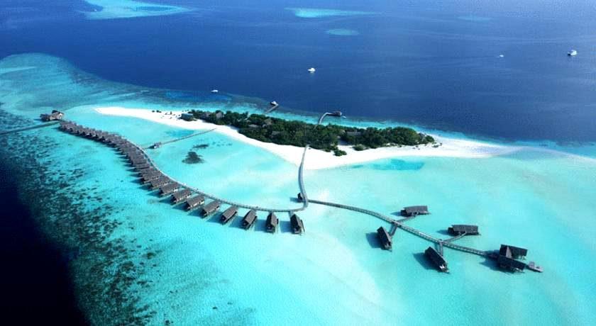 可可亚岛 Cocoa Maldives 鸟瞰地图birdview map清晰版 马尔代夫