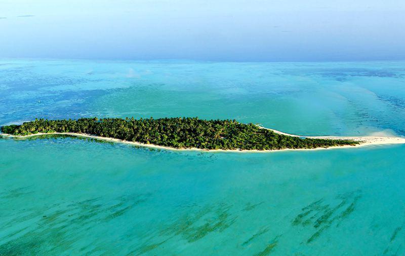 可可尼岛 Cocoon Maldives 鸟瞰地图birdview map清晰版 马尔代夫