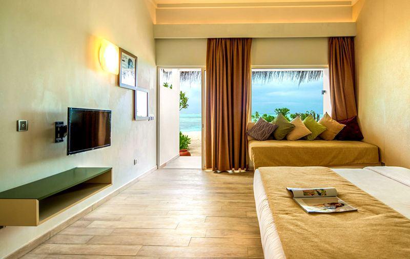 海滩别墅-Beach Villa 房型图片及房间装修风格(可可尼岛 Cocoon Maldives)海岛马尔代夫