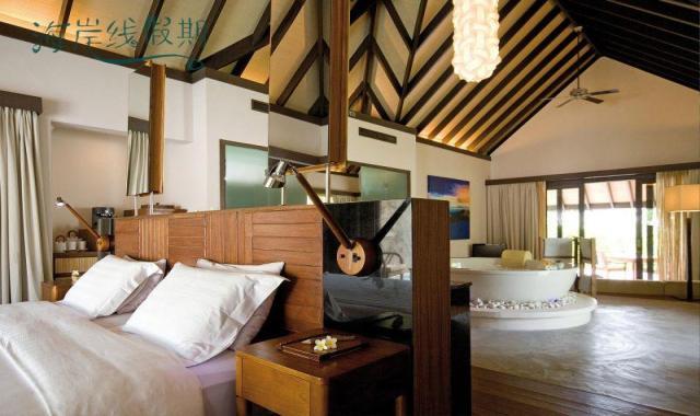 房型内部设施图片参考,如无边泳池与电视及音响, 海滩别墅-Island Villa maldievs(波杜希蒂岛 Coco Palm Bodu Hithi)
