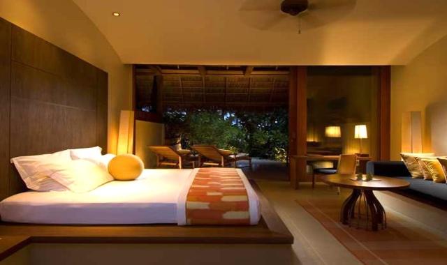 沙滩别墅-King Beach Villa 房型图片及房间装修风格(港丽岛 Conrad Maldives Rangali)海岛马尔代夫