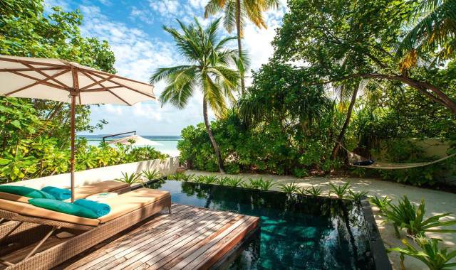 海滩别墅-Beach Villas 房型图片及房间装修风格(哈拉薇利岛 Constance Halaveli)海岛马尔代夫