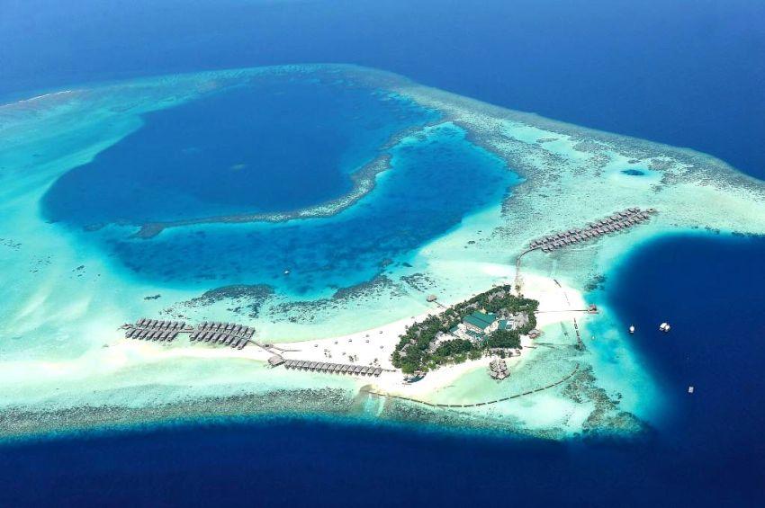 慕芙士岛|魔富士 Constance Moofushi 鸟瞰地图birdview map清晰版 马尔代夫