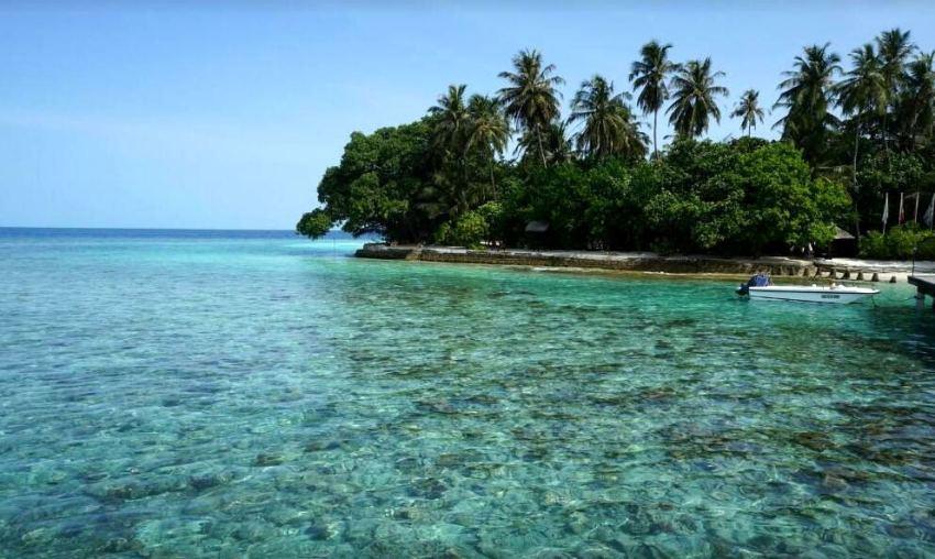 艾布度岛|茵布度 Embudu ,马尔代夫风景图片集:沙滩beach与海水water太美,泳池pool与水上活动watersport好玩