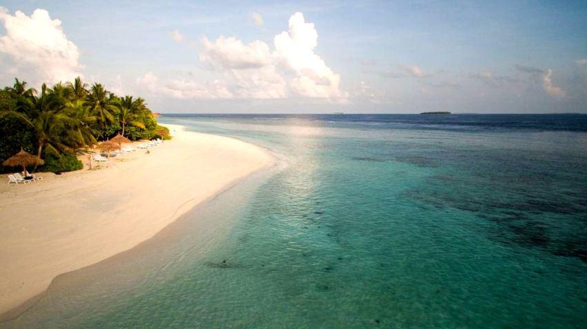 芙拉薇莉岛 Furaveri Island Resort and Spa ,马尔代夫风景图片集:沙滩beach与海水water太美,泳池pool与水上活动watersport好玩