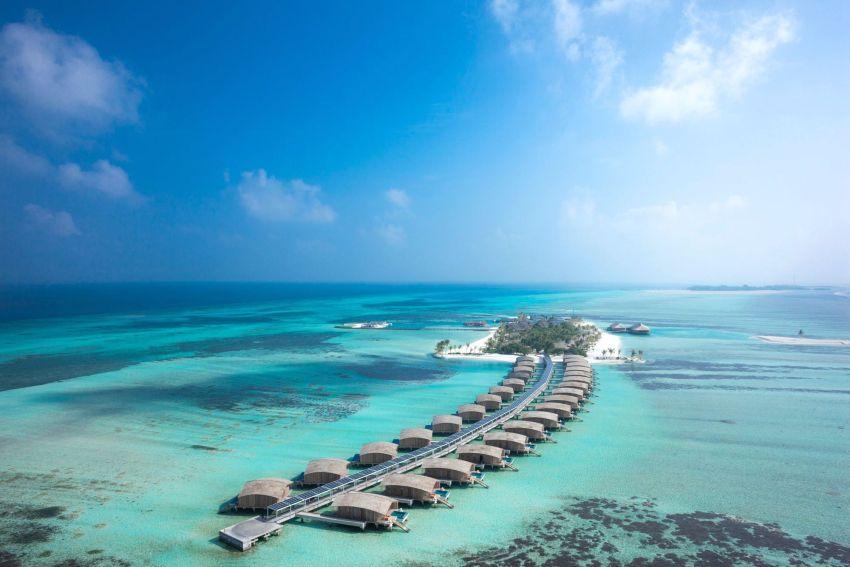 妃诺岛|翡诺岛 ClubMed Finolhu Villas 鸟瞰地图birdview map清晰版 马尔代夫