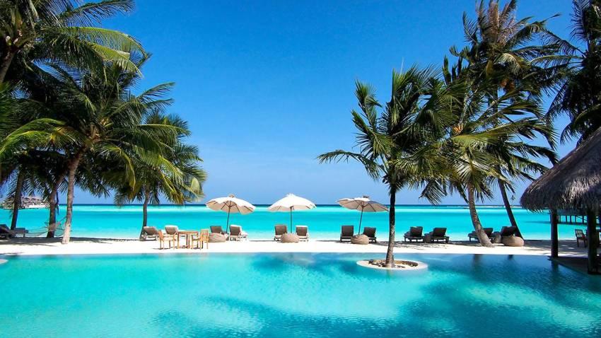 姬丽兰卡富士 Gili Lankanfushi Maldives ,马尔代夫风景图片集:沙滩beach与海水water太美,泳池pool与水上活动watersport好玩