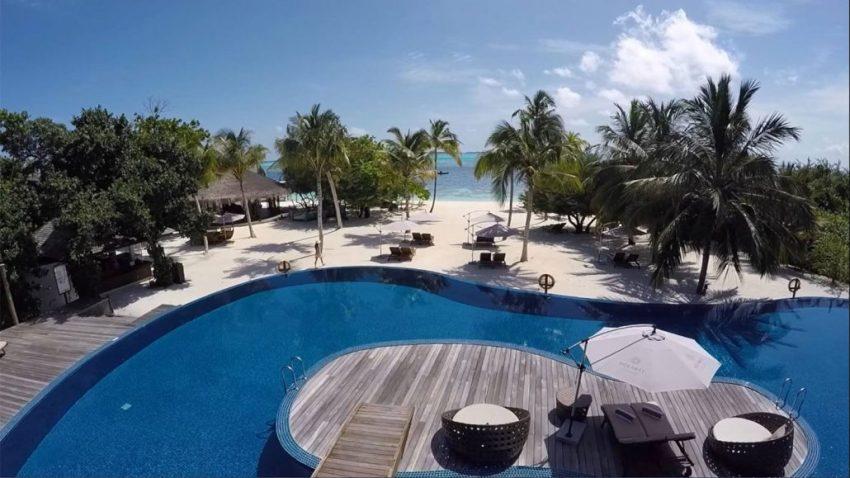 神仙珊瑚岛 Island Hideaway at Dhonakulhi ,马尔代夫风景图片集:沙滩beach与海水water太美,泳池pool与水上活动watersport好玩
