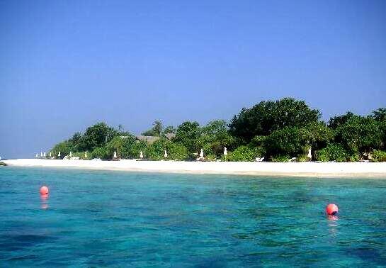 希娜梦岛|月桂岛 J Resort Alidhoo 鸟瞰地图birdview map清晰版 马尔代夫