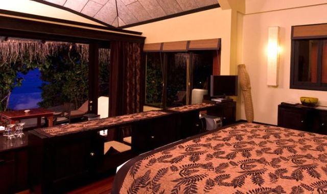 海滩别墅-Beach Villa 房型图片及房间装修风格((J岛)月桂岛 J Resort Alidhoo)海岛马尔代夫