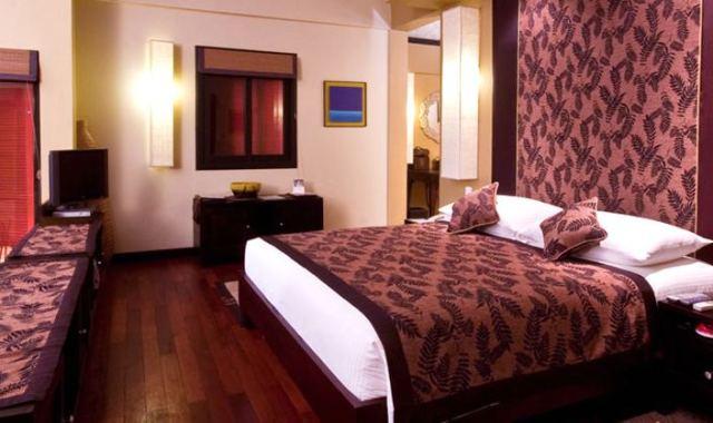 房型内部设施图片参考,如无边泳池与电视及音响, 海滩别墅-Beach Villa maldievs((J岛)月桂岛 J Resort Alidhoo)