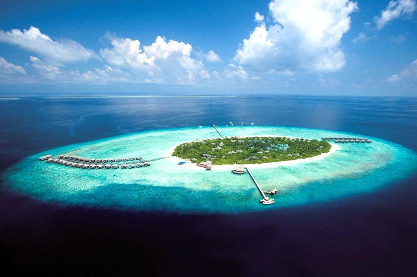 玛娜法鲁|伊露薇莉 JA Manafaru 鸟瞰地图birdview map清晰版 马尔代夫