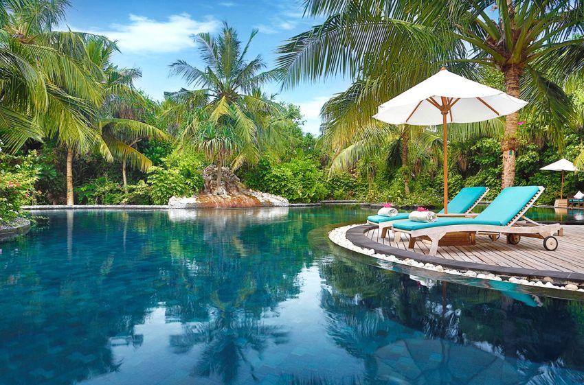 JA玛娜法鲁|伊露薇莉 JA Manafaru ,马尔代夫风景图片集:沙滩beach与海水water太美,泳池pool与水上活动watersport好玩