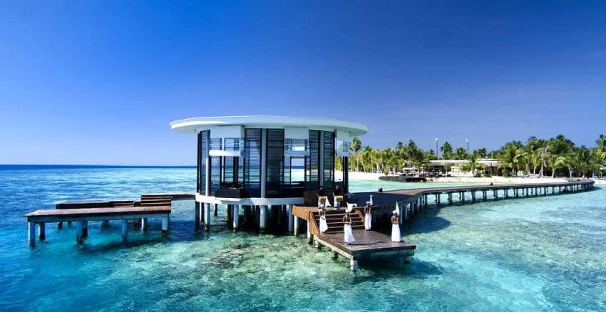 德瓦娜芙希 Dhevanafushi Maldives Luxury Resort 鸟瞰地图birdview map清晰版 马尔代夫