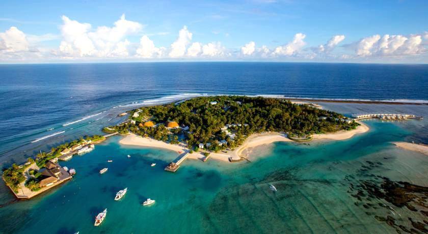 康杜马|康杜玛岛度假村 Kandooma Maldives 鸟瞰地图birdview map清晰版 马尔代夫