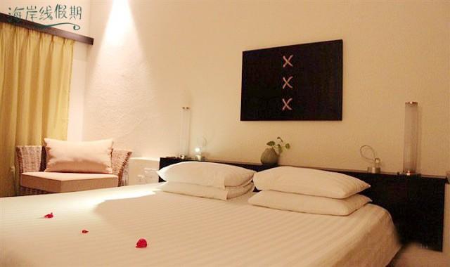 高级房-Superior Room 房型图片及房间装修风格(卡尼岛 Club Med Kani)海岛马尔代夫