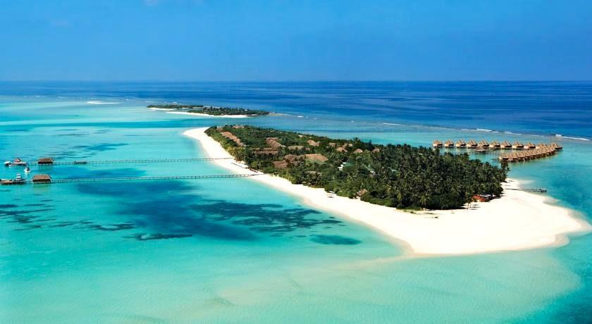 肯尼呼拉岛|卡努呼拉 Kanuhura Maldives 鸟瞰地图birdview map清晰版 马尔代夫