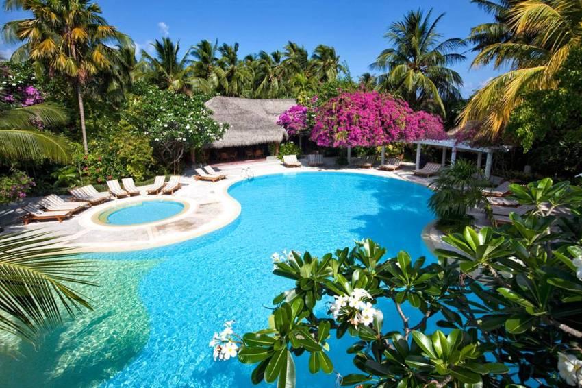 库拉玛提岛|库拉马提 Kuramathi ,马尔代夫风景图片集:沙滩beach与海水water太美,泳池pool与水上活动watersport好玩