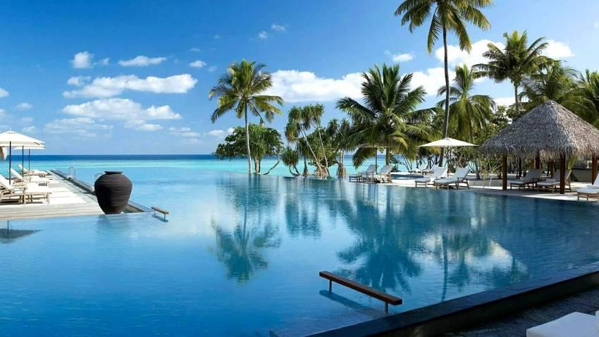 大四季-兰达吉拉瓦鲁 Fourseasons Landaa Giraavaru ,马尔代夫风景图片集:沙滩beach与海水water太美,泳池pool与水上活动watersport好玩