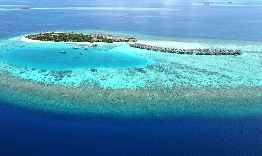 洛马 Loama Maldives 鸟瞰地图birdview map清晰版 马尔代夫
