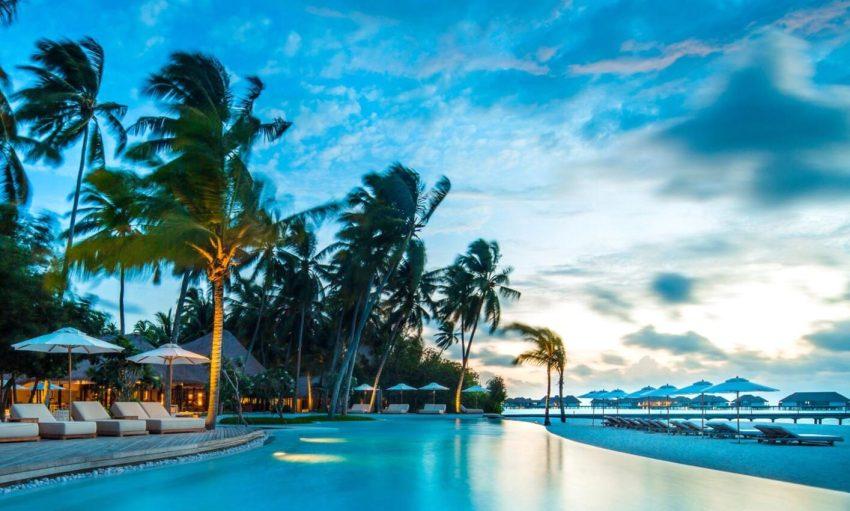 玛丽富士 COMO Maalifushi ,马尔代夫风景图片集:沙滩beach与海水water太美,泳池pool与水上活动watersport好玩