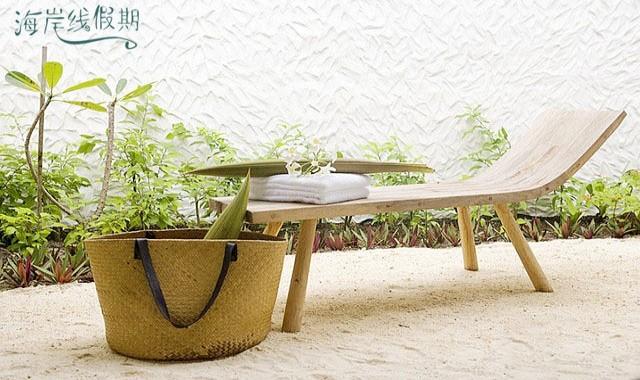 房型内部设施图片参考,如无边泳池与电视及音响, 花园客房-Garden Rooms maldievs(玛丽富士 COMO Maalifushi)