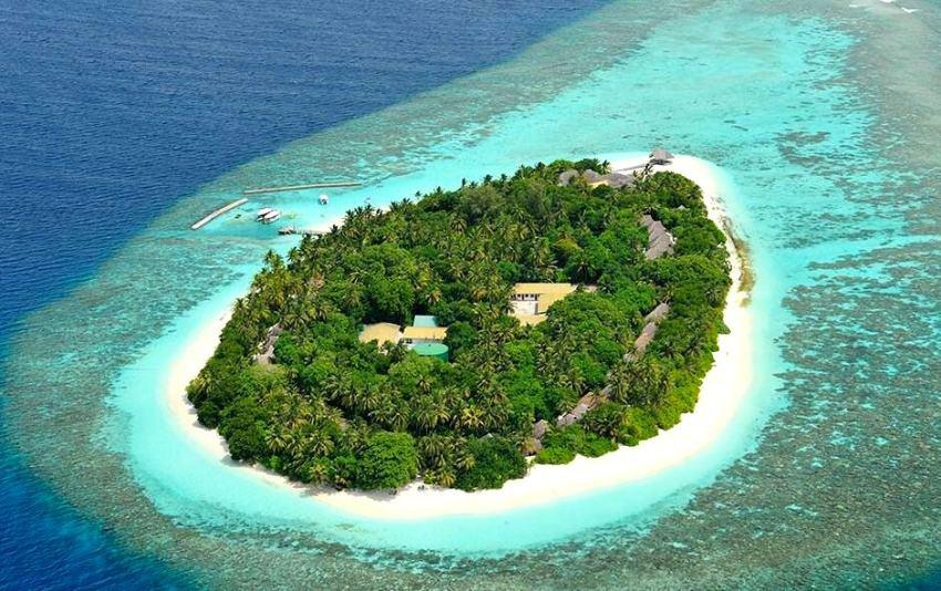 马杜加里 Madoogali 鸟瞰地图birdview map清晰版 马尔代夫