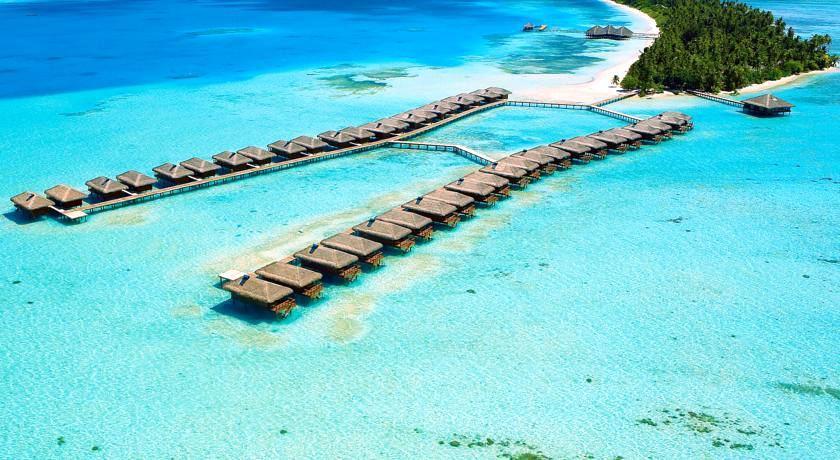 曼德芙岛|曼德芙仕岛 Medhufushi 鸟瞰地图birdview map清晰版 马尔代夫