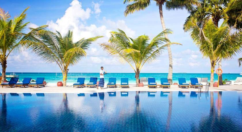 美禄岛|蜜月岛 Meeru ,马尔代夫风景图片集:沙滩beach与海水water太美,泳池pool与水上活动watersport好玩