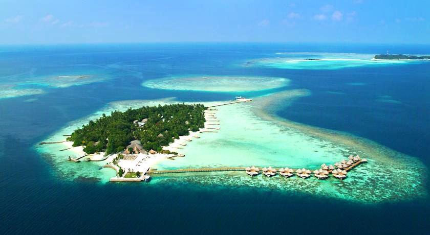 尼卡岛 Nika Island 鸟瞰地图birdview map清晰版 马尔代夫