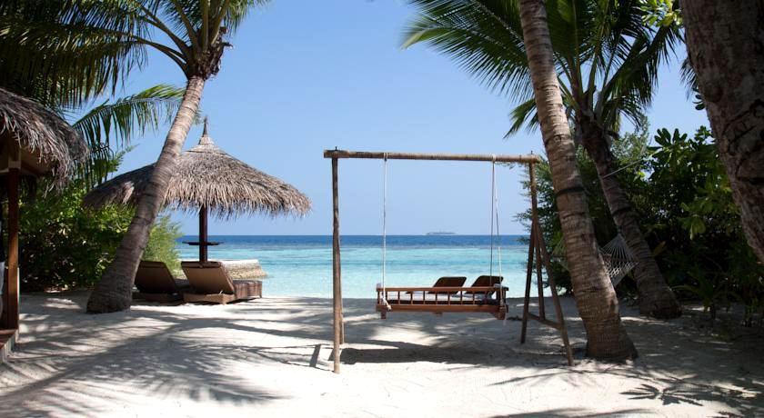 尼卡岛 Nika Island ,马尔代夫风景图片集:沙滩beach与海水water太美,泳池pool与水上活动watersport好玩
