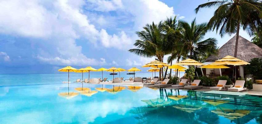 尼亚玛 Niyama Maldives ,马尔代夫风景图片集:沙滩beach与海水water太美,泳池pool与水上活动watersport好玩